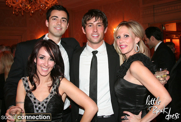 Little Black Dress Charity Soiree :: The Townsend Hotel 11.18.10